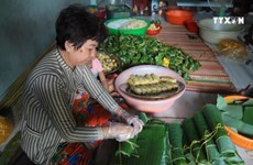 Banh Tet: Traditional cake in southern Vietnam