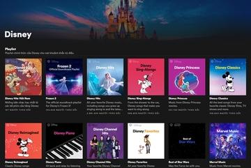 Spotify's Disney Hub available in Vietnam