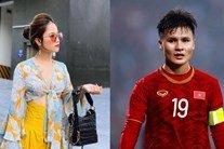 Đi đám cưới Phan Văn Đức, bạn gái tin đồn lần đầu nói về mối quan hệ với Quang Hải