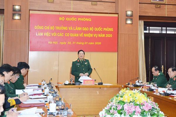 Bộ Quốc phòng thực hiện nghiêm chỉ thị phòng chống dịch corona
