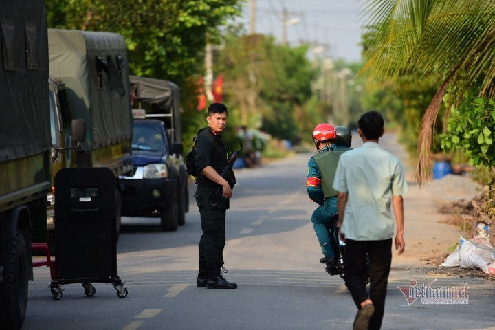 nổ súng,vụ án giết người,Củ Chi,Sài Gòn