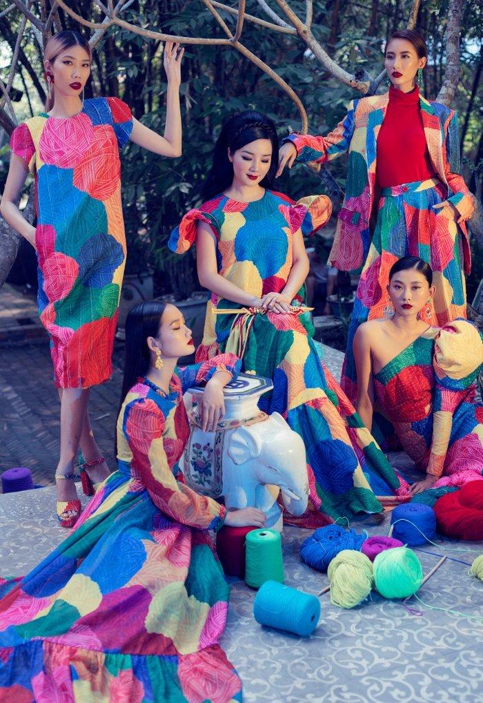 Hoa hậu Giáng My làm 'nàng thơ' của Vũ Ngọc & Son