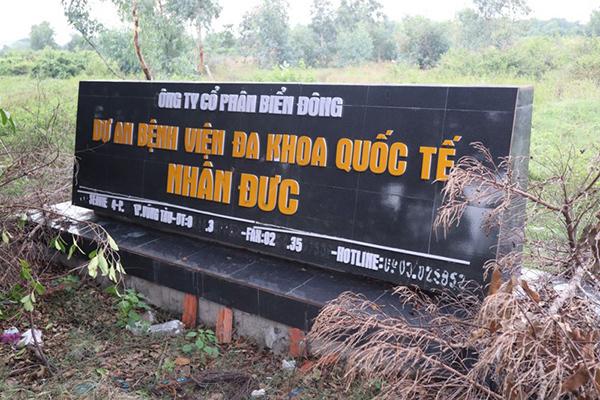 Chấm dứt hoạt động dự án bệnh viện 'nằm trên giấy' ở Vũng Tàu