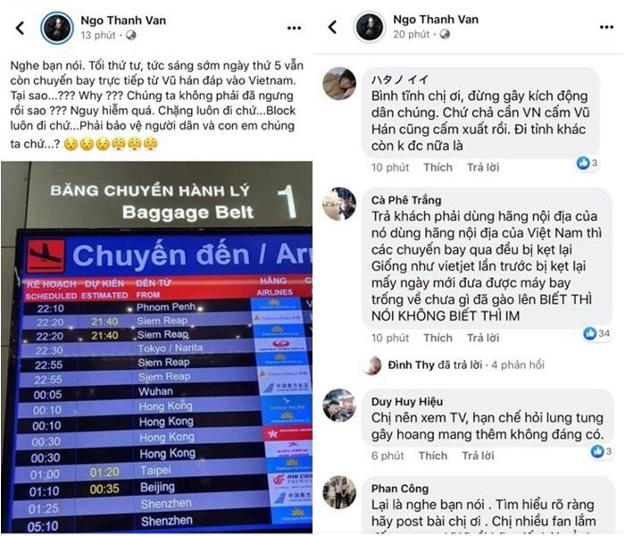 Ngô Thanh Vân và loạt sao Việt đưa tin sai về đại dịch virus corona