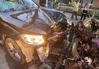 Ô tô tông xe máy, tài xế GrabBike chết, nữ tiếp viên hàng không trọng thương