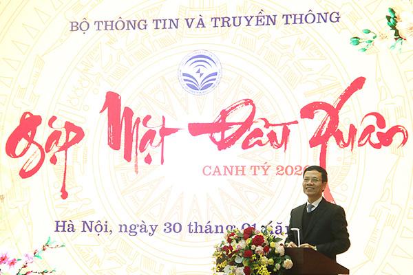 """Bộ trưởng Nguyễn Mạnh Hùng: """"Điểm khởi đầu của mọi thành tựu luôn là khát vọng"""""""