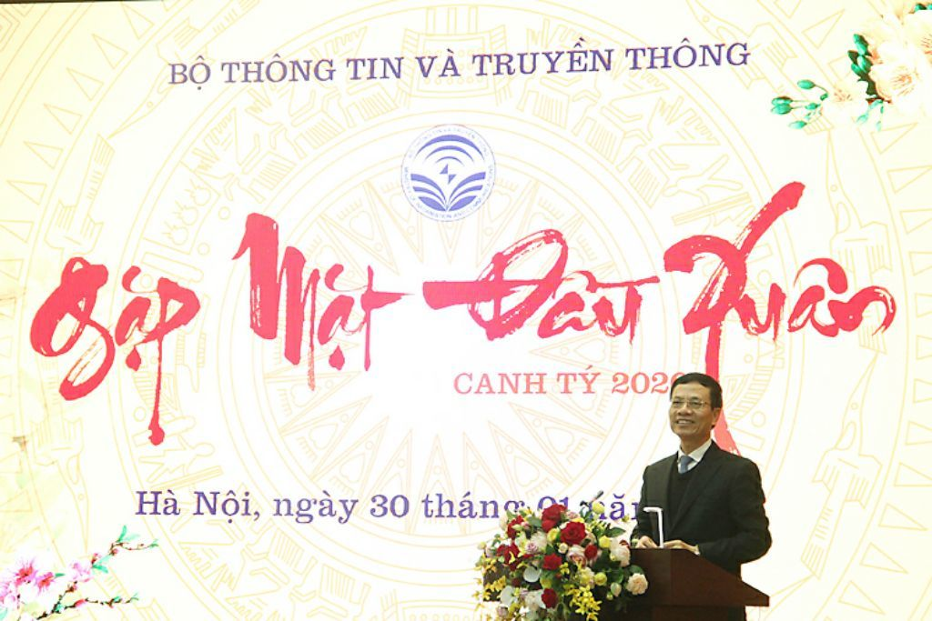 Toàn văn bài phát biểu buổi gặp mặt đầu Xuân Canh Tý 2020 của Bộ trưởng Nguyễn Mạnh Hùng
