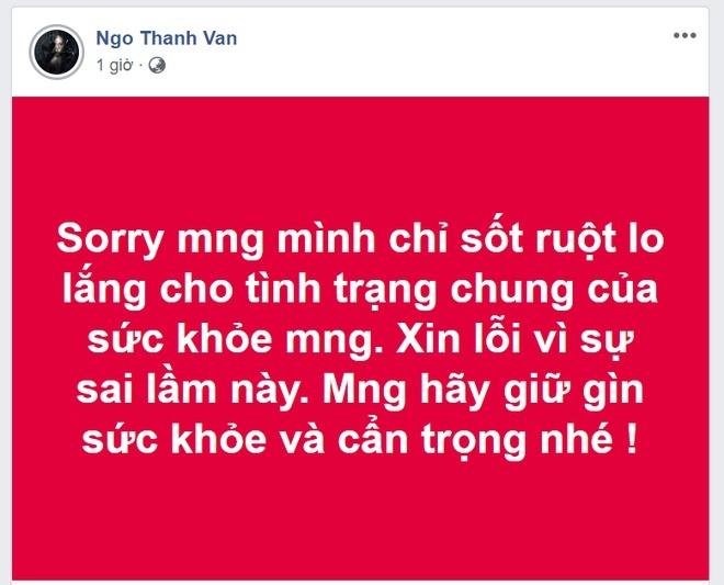 Ngô Thanh Vân, Đàm Vĩnh Hưng đưa tin sai về đại dịch virus corona