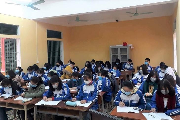 4 trường phổ thông cho học sinh nghỉ 1 tuần phòng virus corona