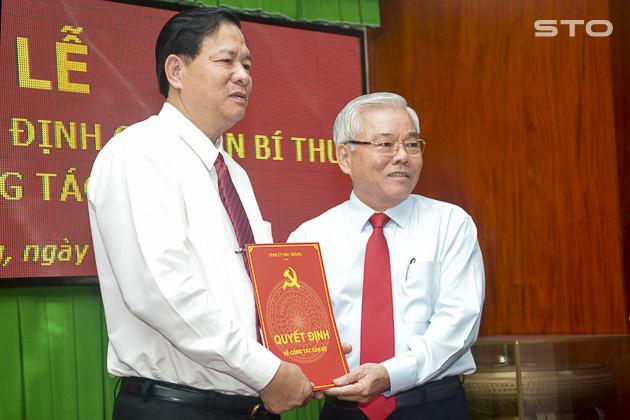 Phó bí thư thường trực Sóc Trăng Huỳnh Văn Sum nghỉ hưu