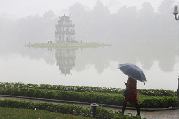 Dự báo thời tiết 1/2, miền Bắc có mưa phùn và sương mù