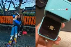 Cường Đô La tặng nhẫn kim cương cho vợ ở Mỹ, Hà Hồ ôm Subeo ở Nhật