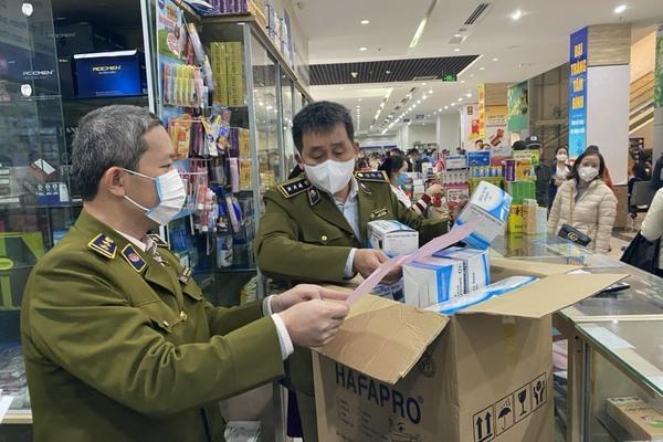 Gom 200.000 chiếc khẩu trang xuất lậu qua Trung Quốc