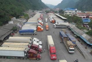 Lạng Sơn đề xuất dừng đưa hàng hoá lên cửa khẩu Tân Thanh