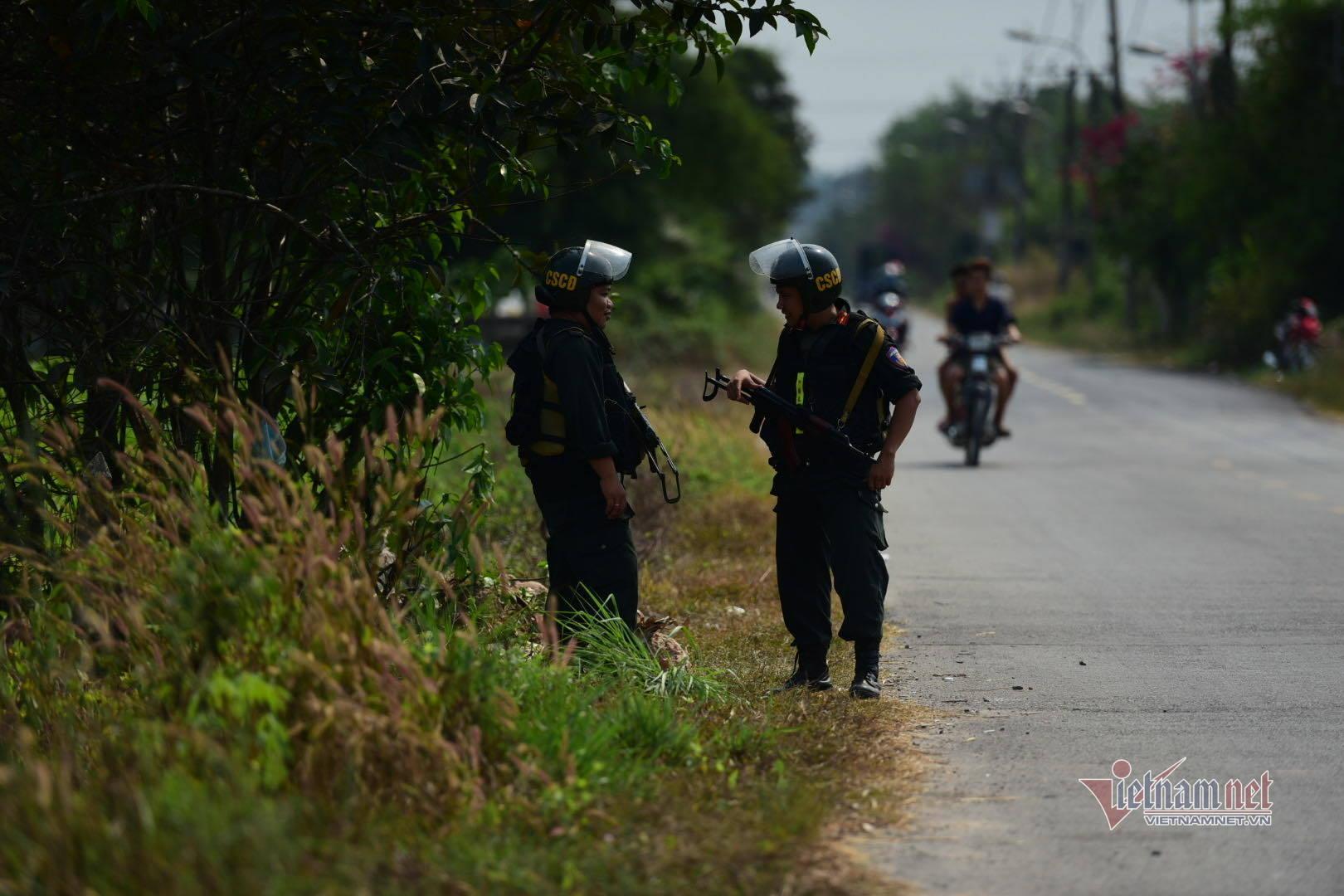 Truy lùng nghi phạm nổ súng bắn 5 người ở khu vực biên giới Campuchia