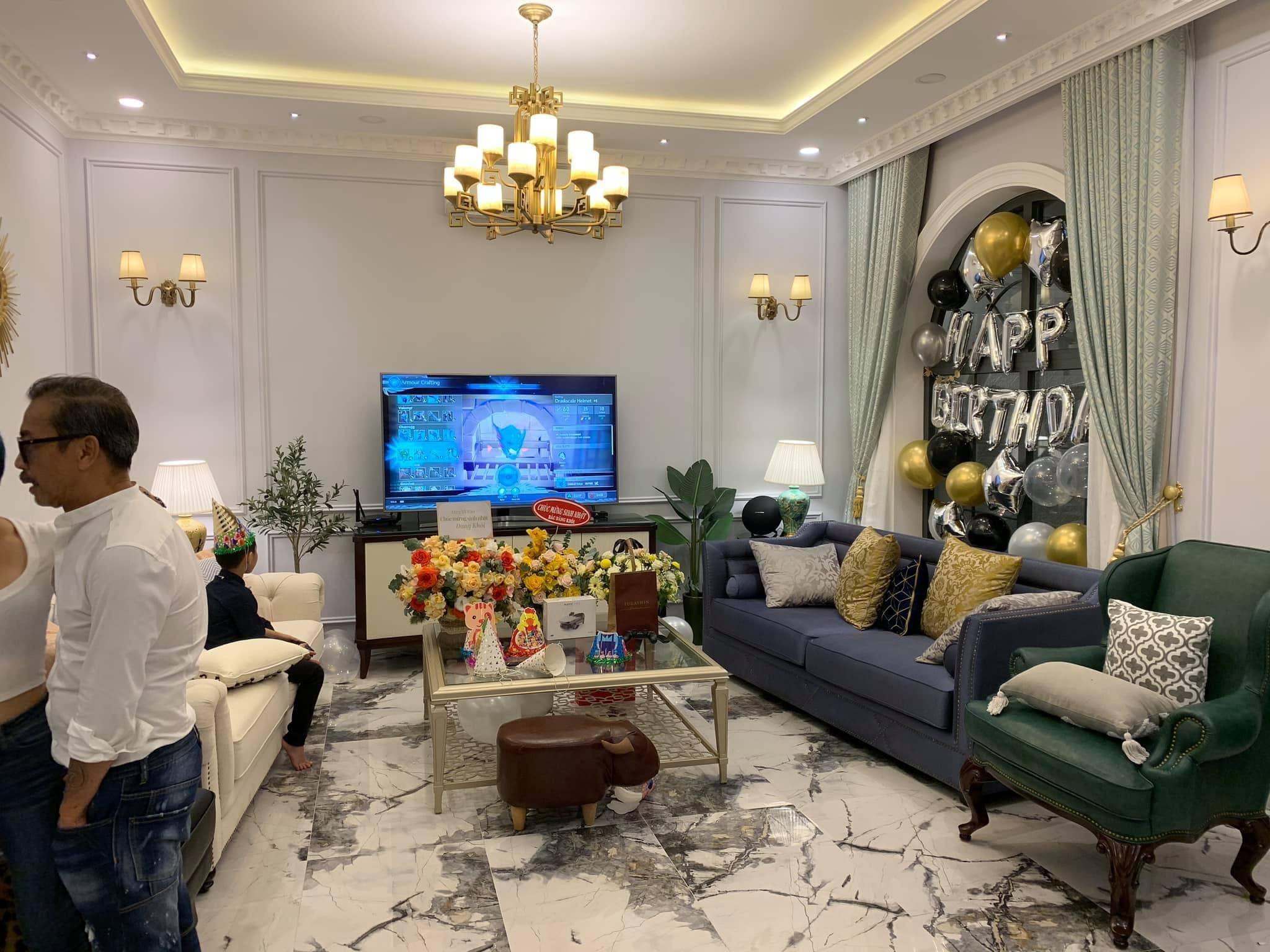 Biệt thự 2 triệu đô không khác gì khách sạn nhà vợ chồng Đăng Khôi