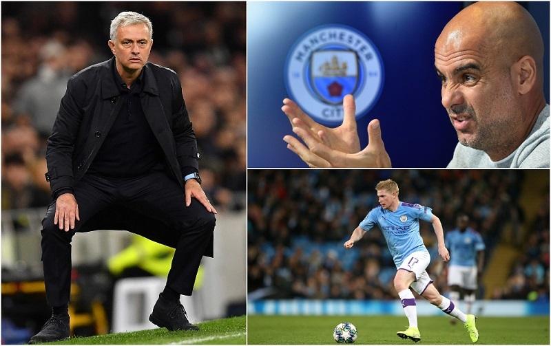 Mourinho,Pep Guardiola,Tottenham,Man City,Barca,Willian