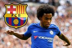 Barca chơi khăm Chelsea, mời Willian ký 3 năm