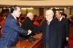 Tổng bí thư, Chủ tịch nước dự hội nghị gặp mặt nguyên lãnh đạo cấp cao