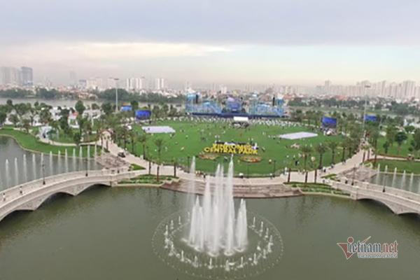 Chung cư thời corona: Khách đến soi thân nhiệt, công viên chục hecta không bóng người