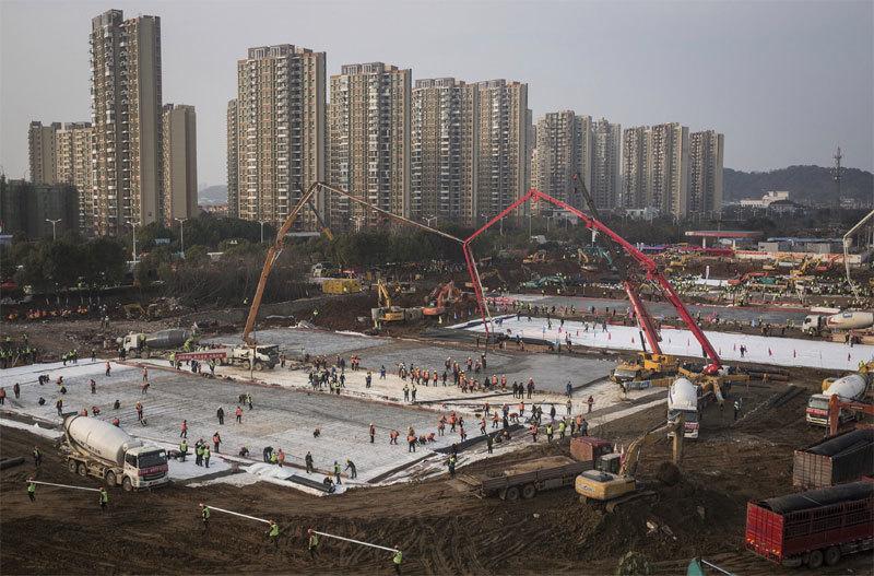 Xem Trung Quốc xây bệnh viện 'thần tốc' điều trị virus corona