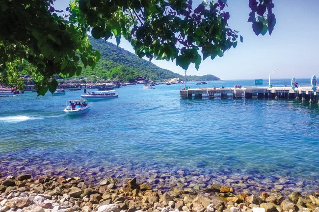 A visit to the rustic, peaceful Cham Island