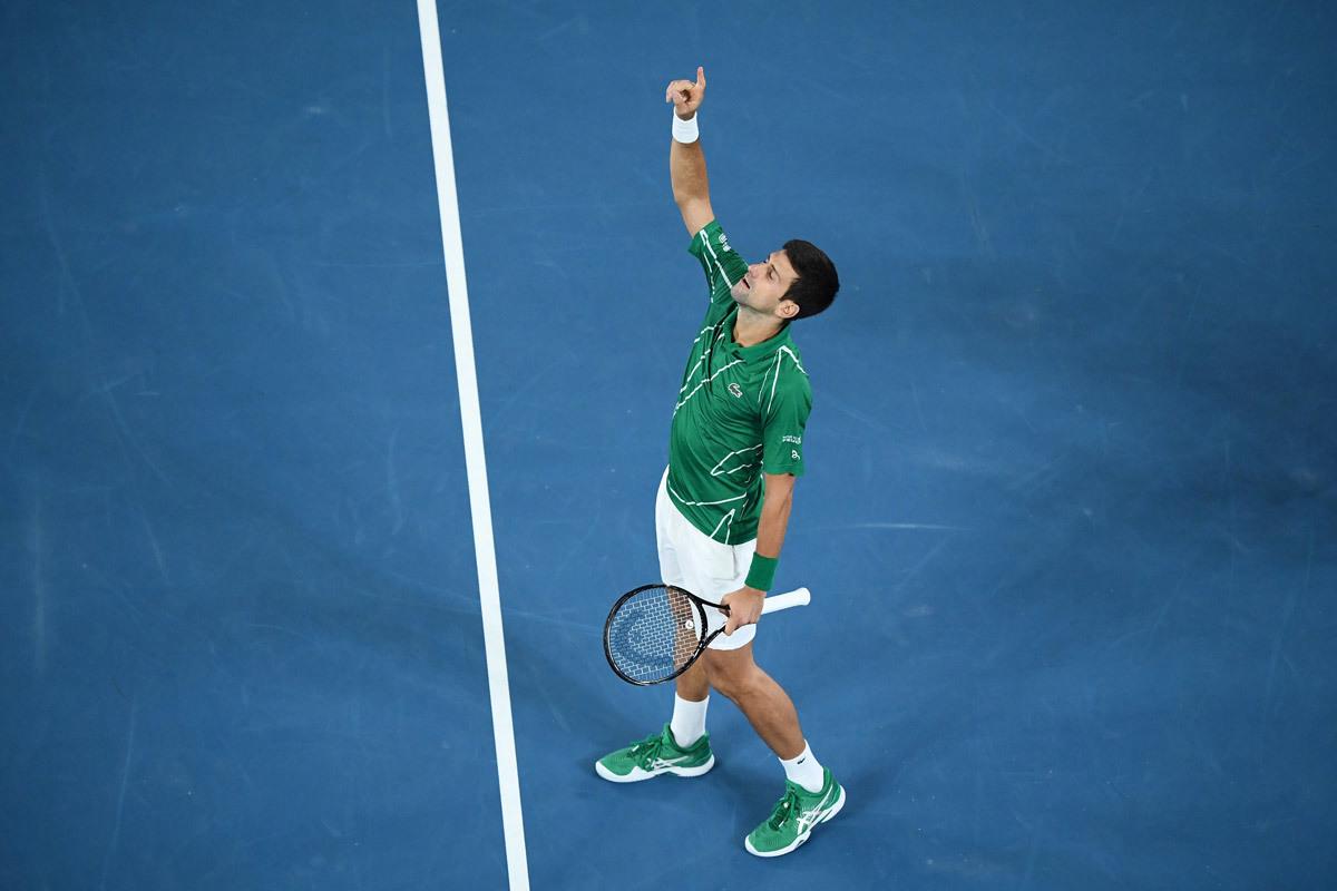 Novak Djokovic, ánh sáng trên bầu trời nước Úc