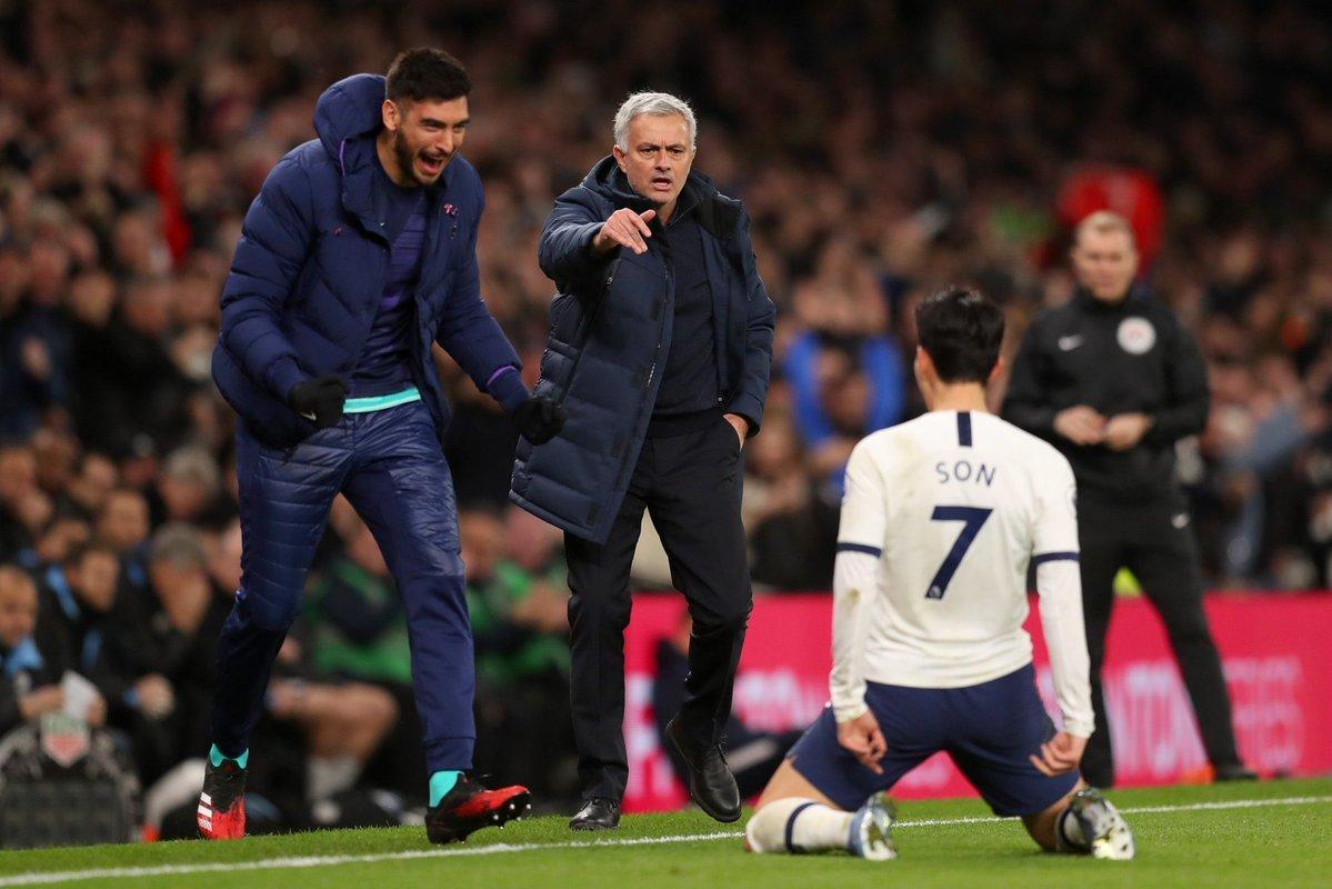 Jose Mourinho,Tottenham,Steven Bergwijn,MU,Tottenham vs Man City