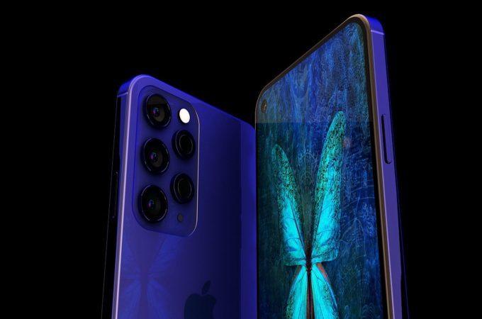 Ngắm mẫu iPhone 12 Pro Max với camera 5 ống kính đẹp lung linh