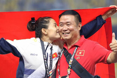 Athletic coach Vu Ngoc Loi plays a key role in many athletes' success