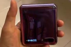 Lộ video trên tay Galaxy Z Flip trước ngày ra mắt