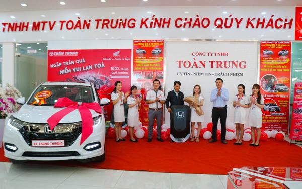 Gần 260.000 khách hàng Honda Việt Nam nhận quà may mắn