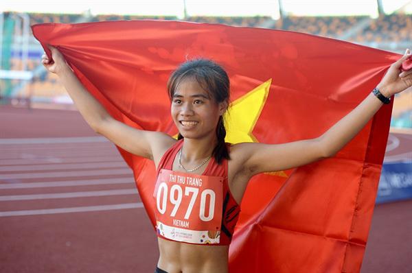 Pham Thi Thu Trang,Grab bike driver,SEA Games gold medallist