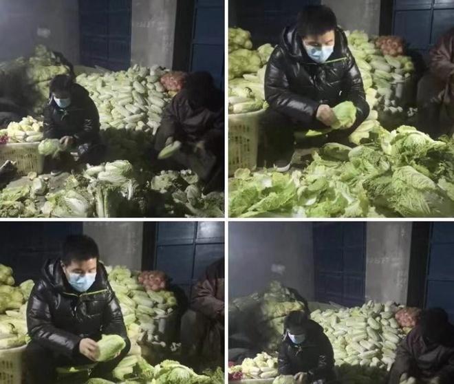 Nam ca sĩ tự cách ly mình sau khi lái xe chở 15 tấn rau đến Vũ Hán
