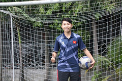 Goalie Kim Thanh – steel shield of women's football team