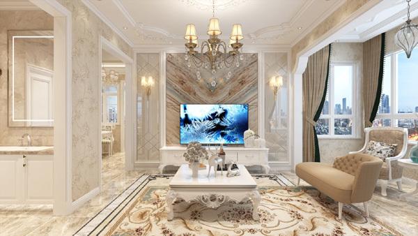 'Hô biến' phòng khách cổ điển thành hiện đại với TV OLED siêu mỏng