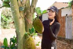 Trà Ngọc Hằng khoe vườn 9.600 m2 ở Lâm Đồng