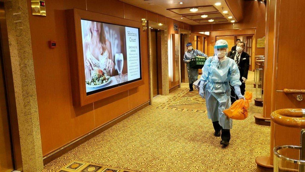 10 người trên du thuyền ở Nhật nhiễm virus corona