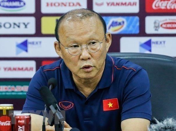 Head coach Park Hang-seo,football,World Cup qualifier,novel coronavirus,game time,Vietnam Sports Administration,Vietnam Football Federation VFF,V.League 1