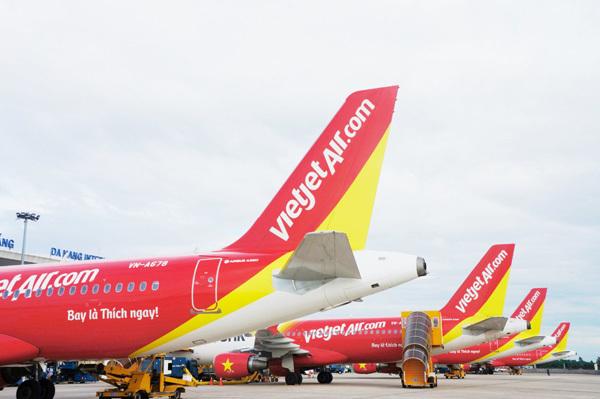Hành khách Vietjet trúng máy bay 1 ký vàng