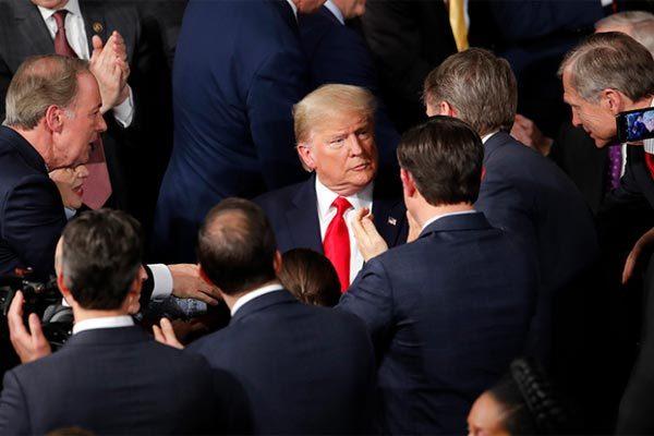 Ông Trump biến thông điệp liên bang thành diễn văn tái tranh cử