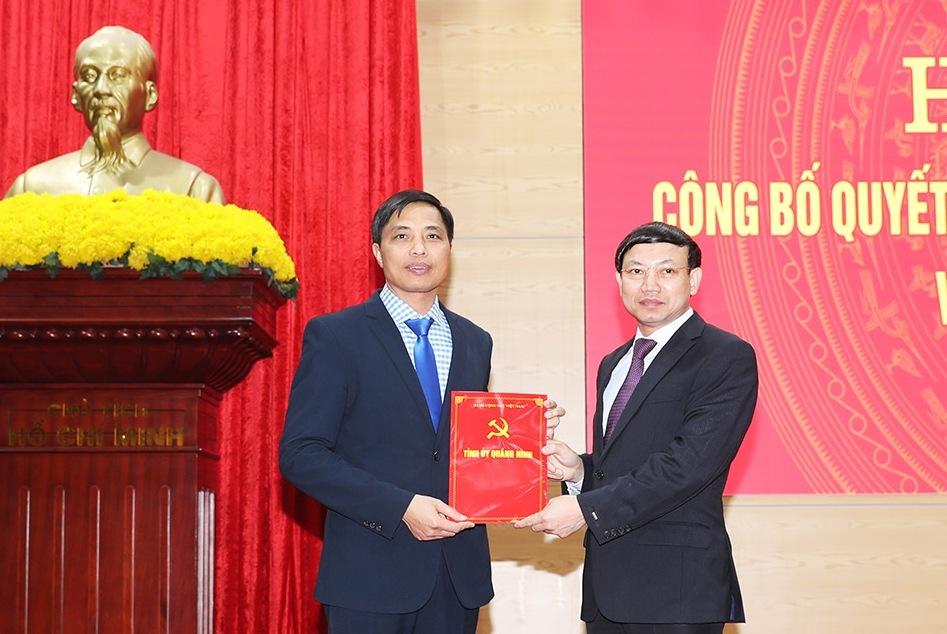 bổ nhiệm,nhân sự,Quảng Ninh,Sơn La