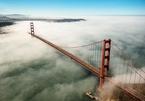 Vẻ đẹp chìm trong biển sương của cây cầu biểu tượng nước Mỹ