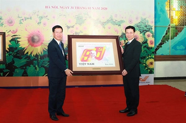 Photo book about Communist Party of Vietnam,stamp,painter To Minh Trang