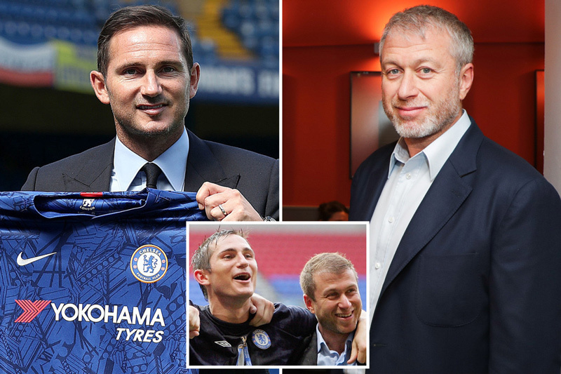Chelsea,Frank Lampard,Abramovich