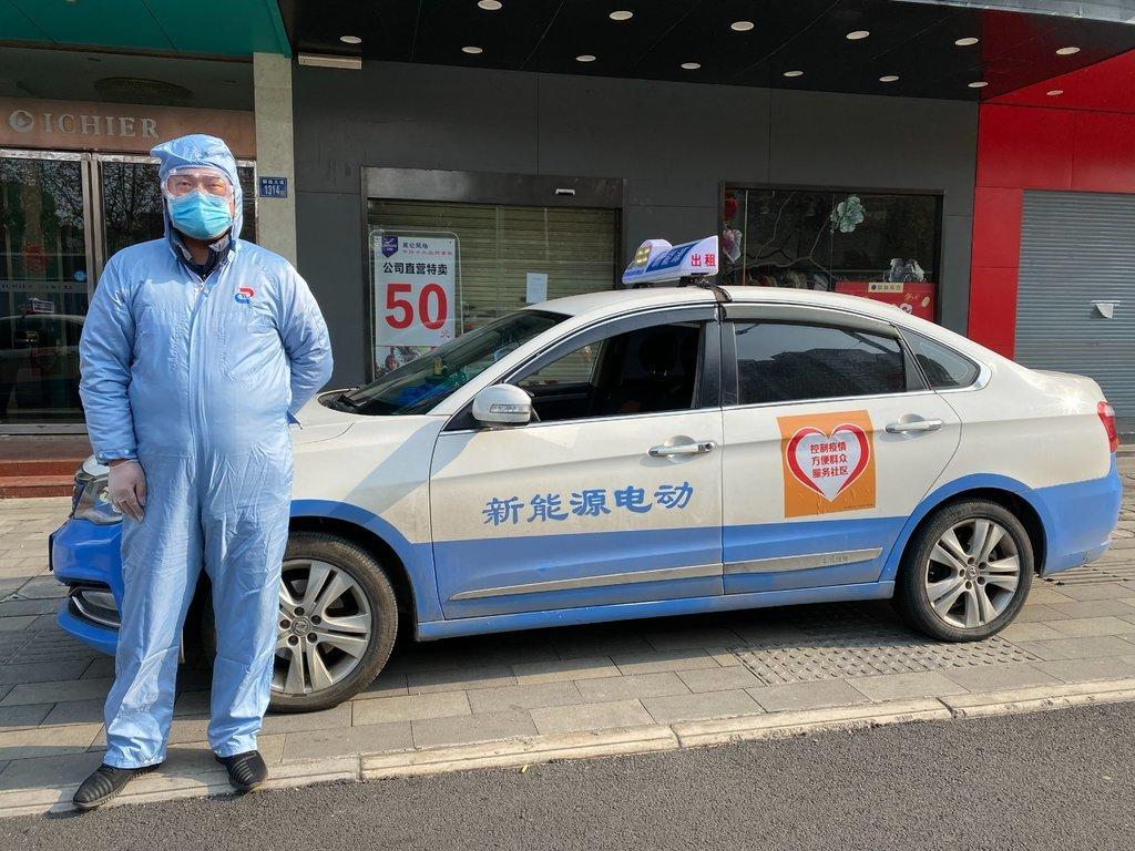 Những tài xế thầm lặng giữa thành phố Vũ Hán