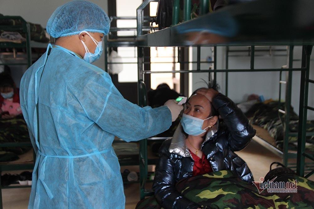 Doanh trại Trung đoàn 123, nơi cách ly 355 người trở về từ Trung Quốc