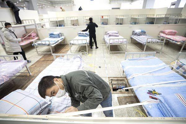 Xem Vũ Hán dựng thần tốc nhiều bệnh viện chống dịch corona