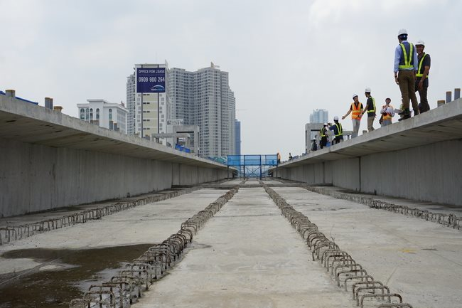 First metro line in HCMC to be completed late next year