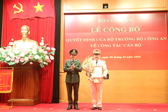 Giám đốc Công an Sóc Trăng làm Phó chánh Văn phòng Bộ Công an